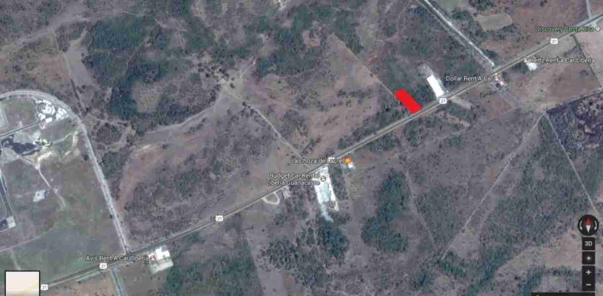 Commercial Land Liberia Airport for sale in Guanacaste Costa Rica