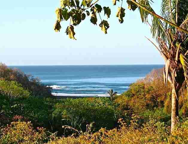 Ocean view Property - Lote 9C Residential Lot Los Suenos San Juanillo Guanacaste Costa Rica Sun Real Estate